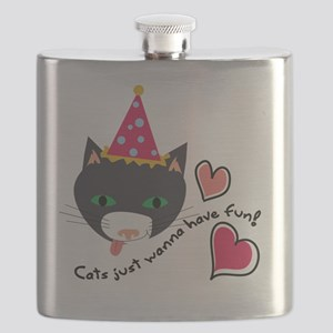 Cats Just Wanna Have Fun! Flask