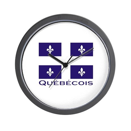 Quebecois Wall Clock