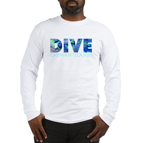 Dive Cayman Islands Long Sleeve T-Shirt