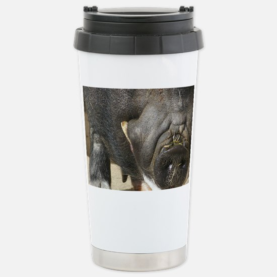 Foaming at the Snout Stainless Steel Travel Mug