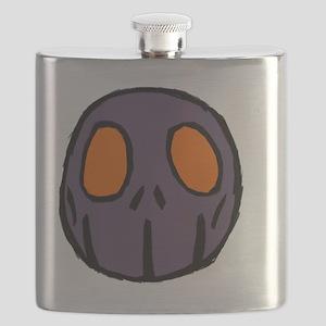 Skull-Guy Emblem Flask
