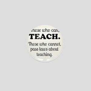 TEACHERS Mini Button