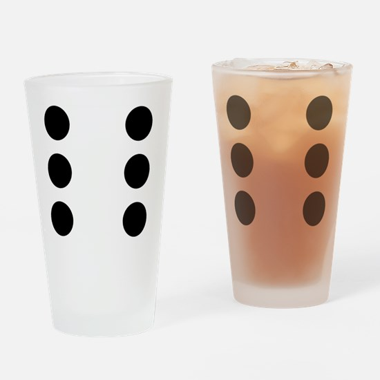 DICE6 Drinking Glass
