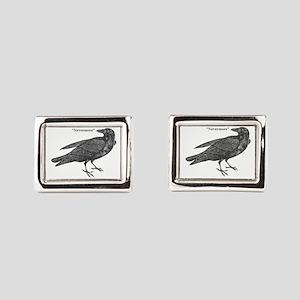 Nevermore Raven Cufflinks