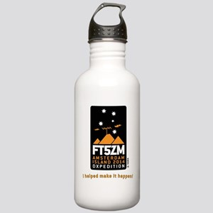 FT5ZM I helped make it Stainless Water Bottle 1.0L
