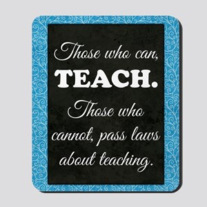 TEACHERS Mousepad