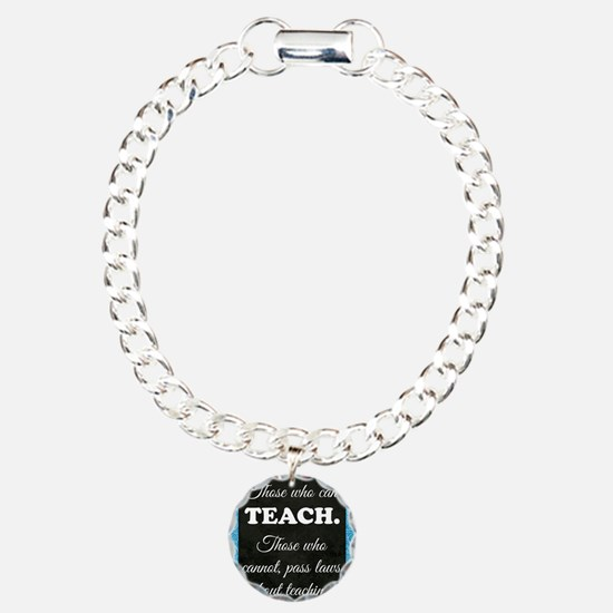 TEACHERS Charm Bracelet, One Charm