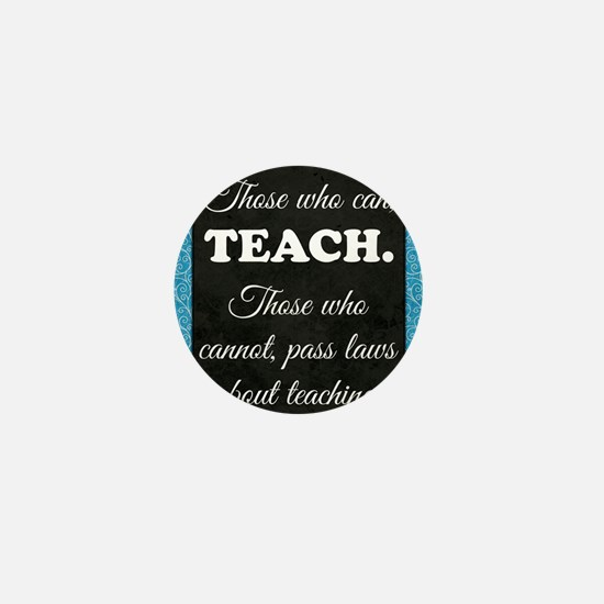 TEACHERS Mini Button