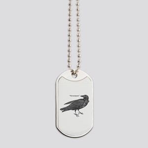 Nevermore Raven Dog Tags