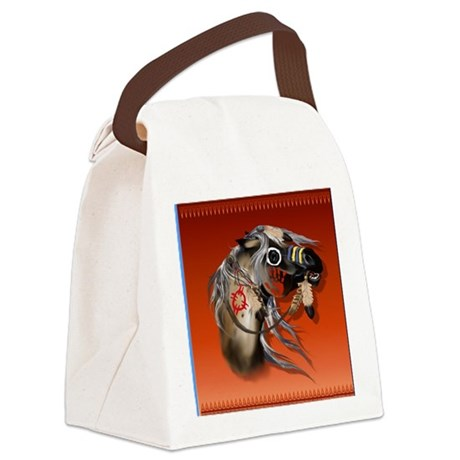 Pillow War Horse4000 Canvas Lunch Bag