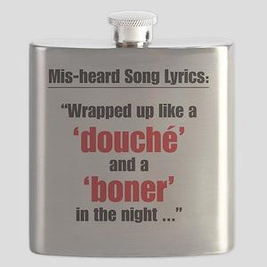 Wrapped up like a douché and a boner Flask