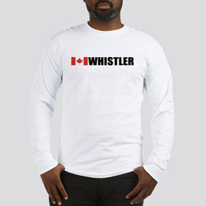 Whistler, British Columbia Long Sleeve T-Shirt