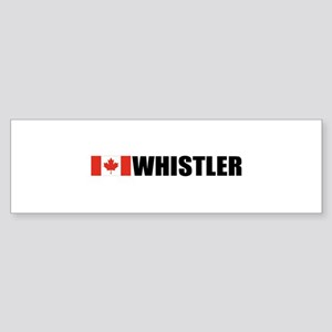 Whistler, British Columbia Bumper Sticker