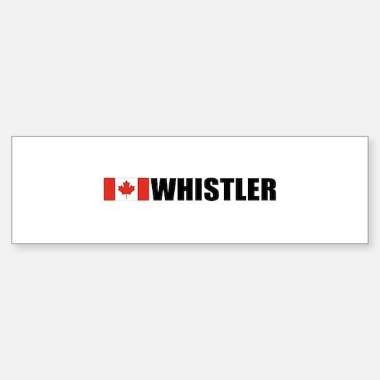 Whistler, British Columbia Bumper Bumper Bumper Sticker