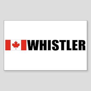 Whistler, British Columbia Rectangle Sticker