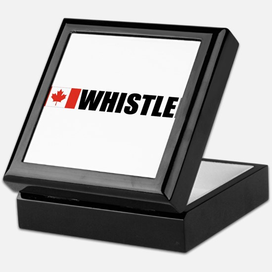 Whistler, British Columbia Keepsake Box