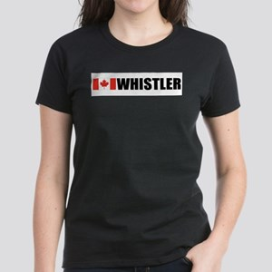 Whistler, British Columbia Women's Dark T-Shirt