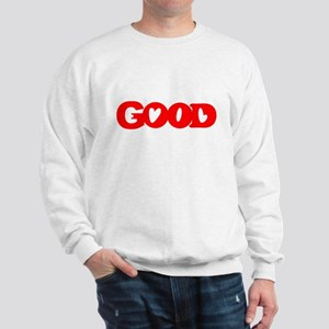 GOOD SHIRT EVIL SHIRT OPTICAL Sweatshirt