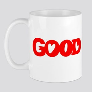 GOOD SHIRT EVIL SHIRT OPTICAL Mug