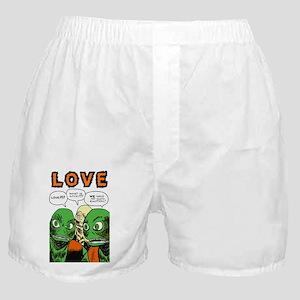 Love scifi vintage Boxer Shorts