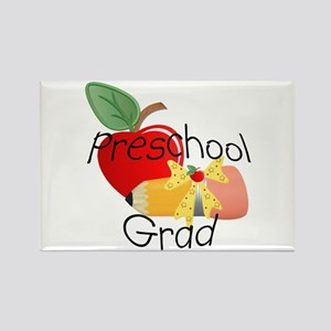 Preschool Grad Rectangle Magnet