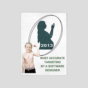 Larger Design Award 5'x7'Area Rug