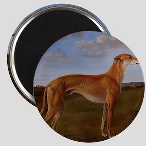 Vintage Greyhound Painting Magnet