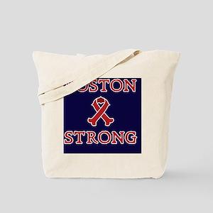 Boston Strong Ribbon Tote Bag