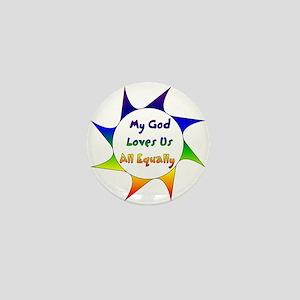 Equal Love Mini Button