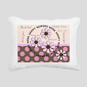happy nurse week 99 Rectangular Canvas Pillow