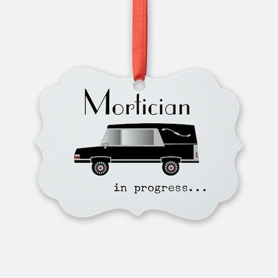 Mortician in progress Ornament