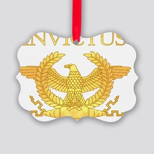 Invictus Eagle Picture Ornament