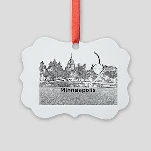 Minneapolis_10.2X7.6_Spoonbridge  Picture Ornament