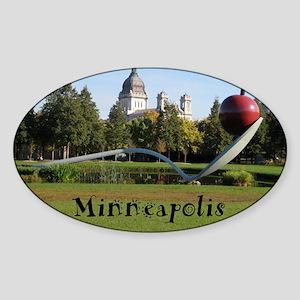 Minneapolis_9.5x8_Mousepad_Spoonbri Sticker (Oval)