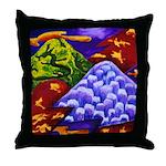 Dragonland - Green Dragons Throw Pillow