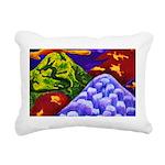 Dragonland Dragons Rectangular Canvas Pillow