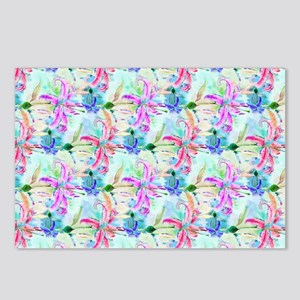 Colorful Orchids Postcards (Package of 8)