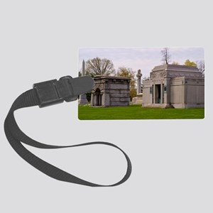 Cemetery Large Luggage Tag