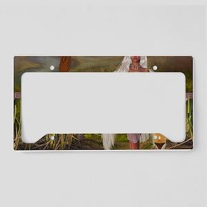 tw_Rectangular Canvas Pillow License Plate Holder