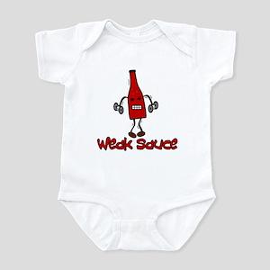 """""""Weak Sauce"""" Infant Bodysuit"""