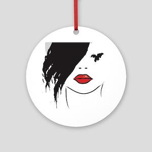 GIRL Round Ornament