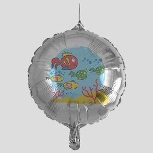 FISH AQUARIUM Mylar Balloon