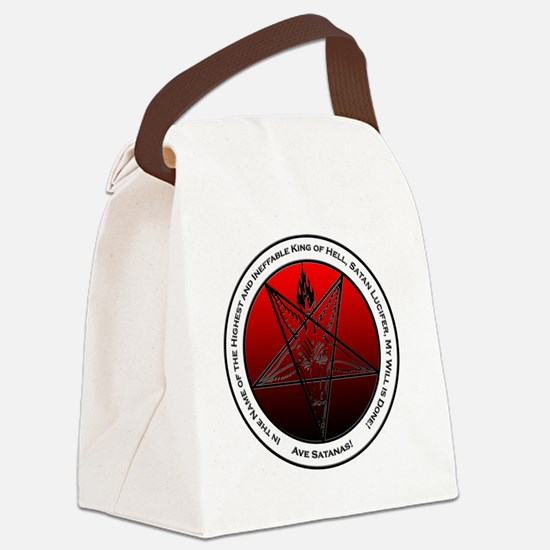 Bloodfire Ineffable King of Hell  Canvas Lunch Bag