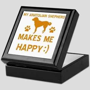 Anatolian Shepherd Dog Designs Keepsake Box