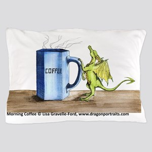 Morning Coffee Pillow Case