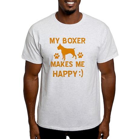 Boxer dog breed designs Light T-Shirt