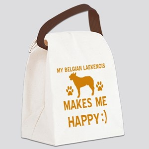 Belgian Laekenois dog Canvas Lunch Bag