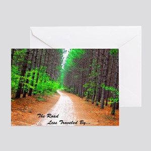 The Road Less Traveled By... Greeting Card