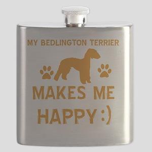 Bedlington Terrier dog-breed Flask
