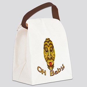 Oh Baby Canvas Lunch Bag